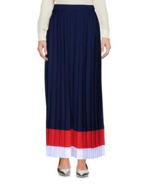 Длинная юбка SPACE STYLE CONCEPT. Цвет: темно-синий