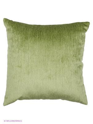 Подушка декоративная шенил  Удача 45х45 см. T&I. Цвет: салатовый
