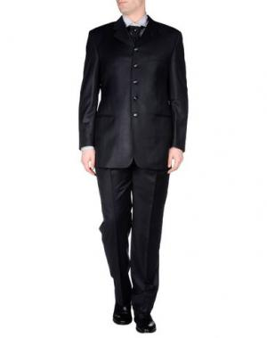 Легкое пальто TIZIANO REALI. Цвет: черный