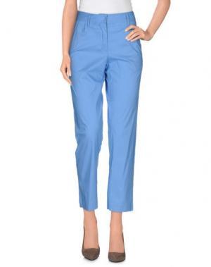 Повседневные брюки LIVIANA CONTI. Цвет: пастельно-синий