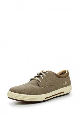 Ботинки Skechers. Цвет: бежевый