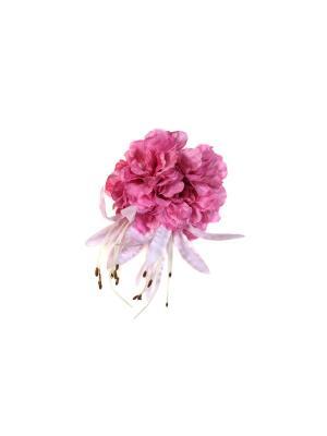 Брошь Lastoria. Цвет: розовый