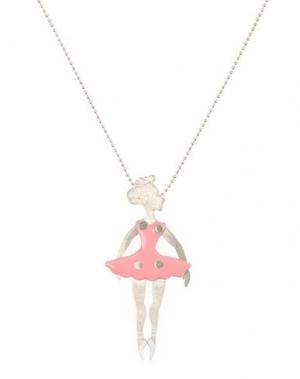 Ожерелье FIRST PEOPLE. Цвет: розовый