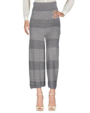 Повседневные брюки TRANSIT PAR-SUCH. Цвет: серый