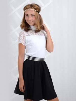 Блузка nasha. Цвет: белый