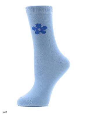 Носки женские H 003 Грация. Цвет: голубой