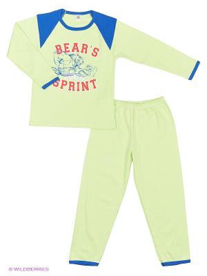 Пижама Хох. Цвет: зеленый