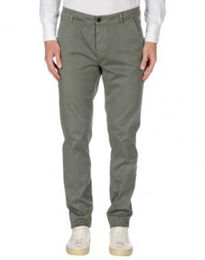 Повседневные брюки CAMOUFLAGE AR AND J.. Цвет: зеленый-милитари