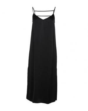 Платье длиной 3/4 TWIST & TANGO. Цвет: черный