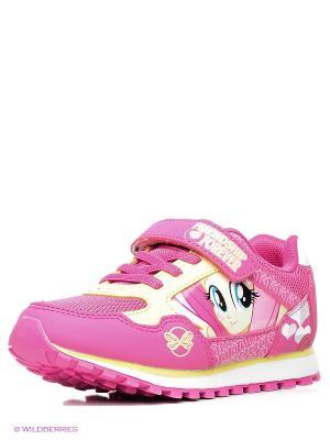 Кроссовки Kakadu. Цвет: розовый, светло-желтый