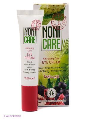 Омолаживающий крем для контура глаз - Eye Cream 15мл Nonicare. Цвет: белый, зеленый