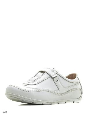 Ботинки BEKERANDMILLER. Цвет: белый