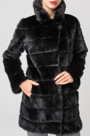 Шуба PT Quality Furs. Цвет: черный