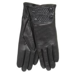 Перчатки  RIC_OFFICER/A черный AGNELLE
