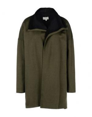 Легкое пальто PEOPLE TREE. Цвет: зеленый-милитари
