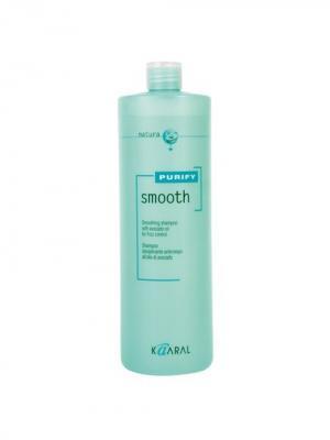 Purify Шампунь для вьющихся волос Smooth Shampoo 1000мл. Kaaral. Цвет: светло-зеленый
