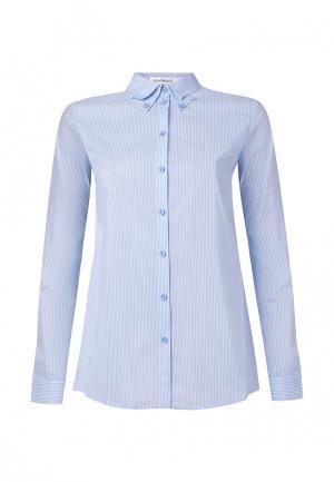 Рубашка Ksenia Knyazeva. Цвет: голубой