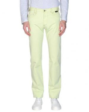Повседневные брюки BETWOIN. Цвет: светло-зеленый