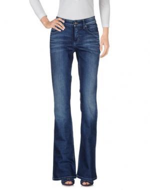 Джинсовые брюки CAMBIO. Цвет: синий
