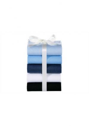 Носки, 5 пар GO IN. Цвет: черный+темно-синий+синий+экрю+голубой