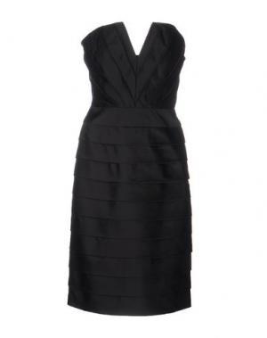 Короткое платье GAI MATTIOLO. Цвет: черный