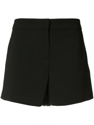 Короткие шорты в стиле casual Trina Turk. Цвет: чёрный