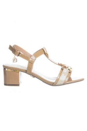High heels sandals Laura Biagiotti. Цвет: beige