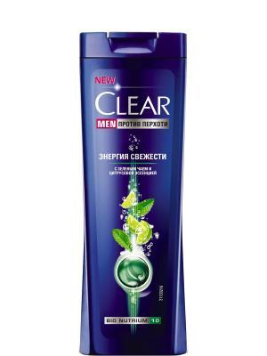 Шампунь Clear Men Энергия свежести 400 мл. Цвет: бирюзовый