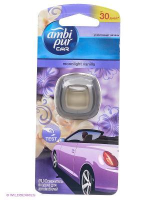 Освежитель воздуха для автомобиля Moonlight Vanilla, 2мл AMBI PUR. Цвет: прозрачный