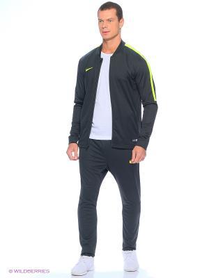Спортивный костюм ACADEMY KNT TRACKSUIT 2 Nike. Цвет: серый, желтый