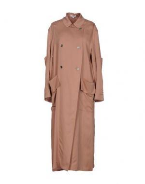 Легкое пальто INTROPIA. Цвет: телесный