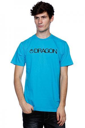 Футболка  Trademark Deep Turquoise Dragon. Цвет: голубой