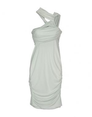 Платье до колена PINKO UNIQUENESS. Цвет: светло-зеленый
