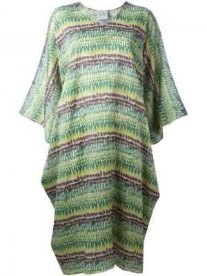 Платье с узором Sybilla. Цвет: многоцветный