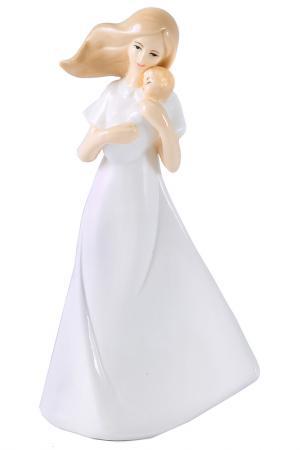 Ангел материнства 11x7x23 Русские подарки. Цвет: белый