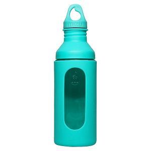 Бутылка для воды  G7 700ml Glass Bottle Mint W Loop Cap Mizu. Цвет: зеленый