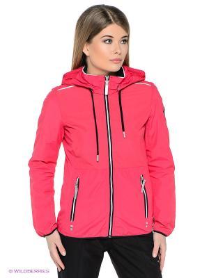 Куртка Luhta. Цвет: малиновый