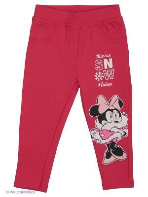 Брюки Disney. Цвет: розовый