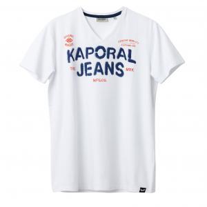 Футболка Teef KAPORAL 5. Цвет: белый,бирюзовый,черный