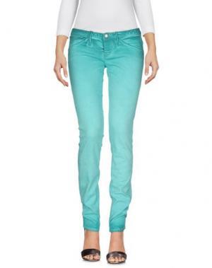 Джинсовые брюки CYCLE. Цвет: светло-зеленый