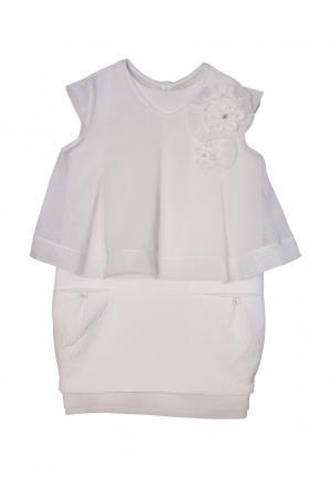 Платье AnyKids. Цвет: белый