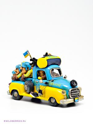 Машина Ukraine Road Trip The Comical World of Stratford. Цвет: голубой, желтый