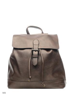 Рюкзак-сумка Sofiya. Цвет: коричневый