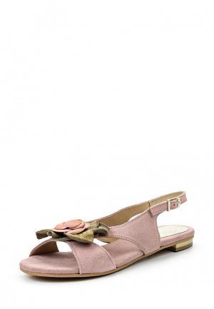 Сандалии Dali. Цвет: розовый