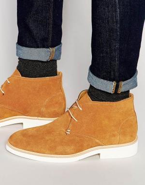 Sebago Ботинки чукка Machall. Цвет: бежевый