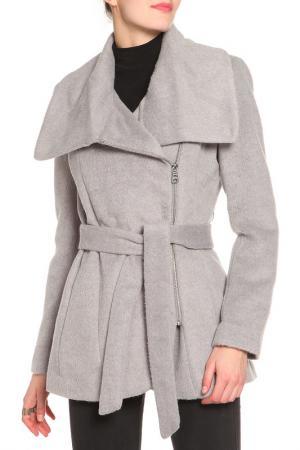 Пальто Jessica Simpson. Цвет: серый