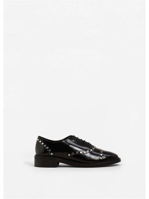 Туфли - MONDAY Mango. Цвет: черный