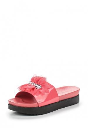 Шлепанцы Mellisa. Цвет: розовый