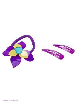 Заколки Лилия для Софии Daisy Design. Цвет: фиолетовый