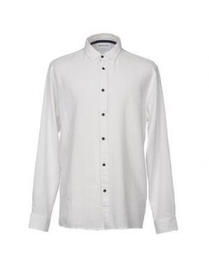 Pубашка ANERKJENDT. Цвет: белый